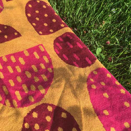 """Praliner"" – Jacquard knitted textile"