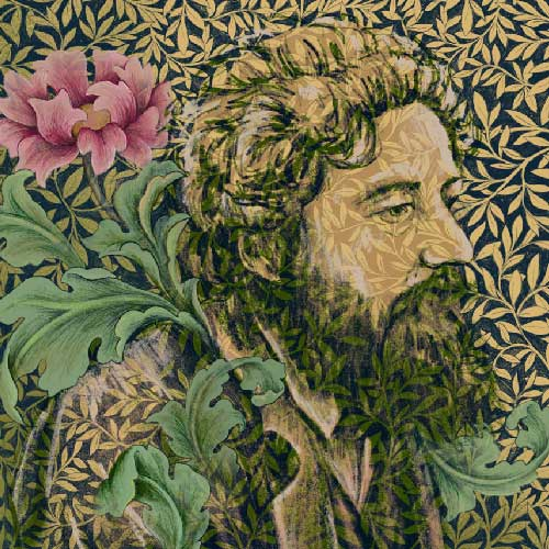 William Morris illustration for The Architectural Review