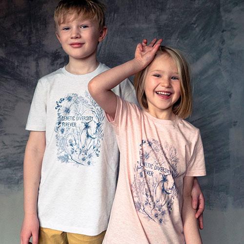 Nordgen T-shirt Print – Genetic diversity